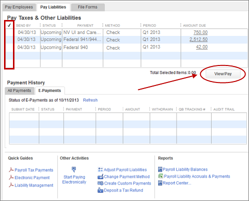 E Pay 940 And 941944 In Quickbooks Desktop Quickbooks Learn Support