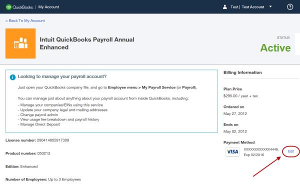 intuit payroll login