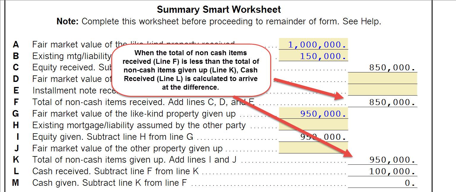 27 1031 Like Kind Exchange Worksheet   Worksheet Resource ...