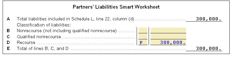 form 1065 recourse liabilities  Allocating Recourse Debt as Nonrecourse or Special... - Tax ...