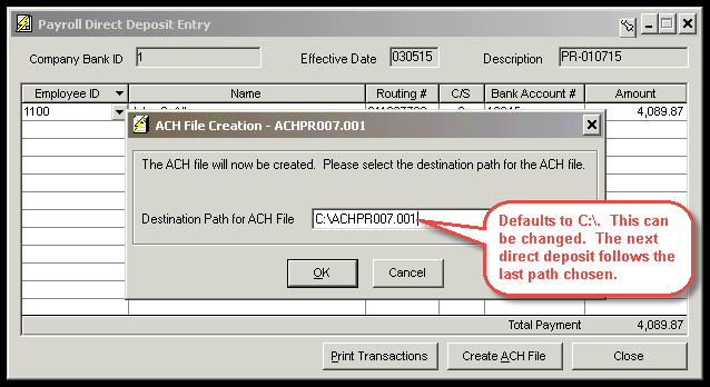 How is the ACH File Name Determined? - Accountants Community