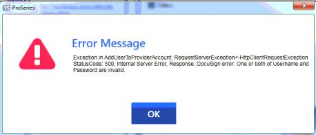 Exception Status Code: 500 Internal Server Error
