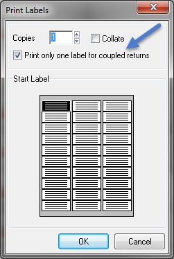 How to set up and print mailing labels - ProFile