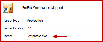 Workstation Install Mapped Drive