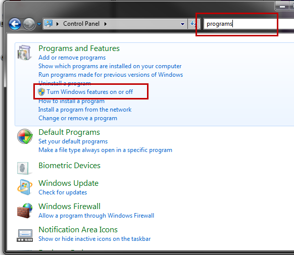 How to enable/install Microsoft  NET Framework 3 5 & 4 5 2