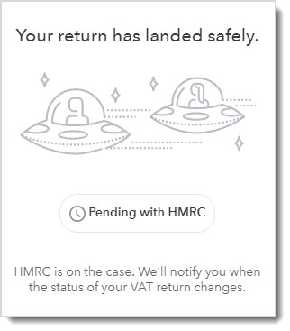 Pending with HMRC