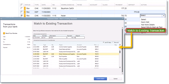 How to add a transaction in quickbooks online
