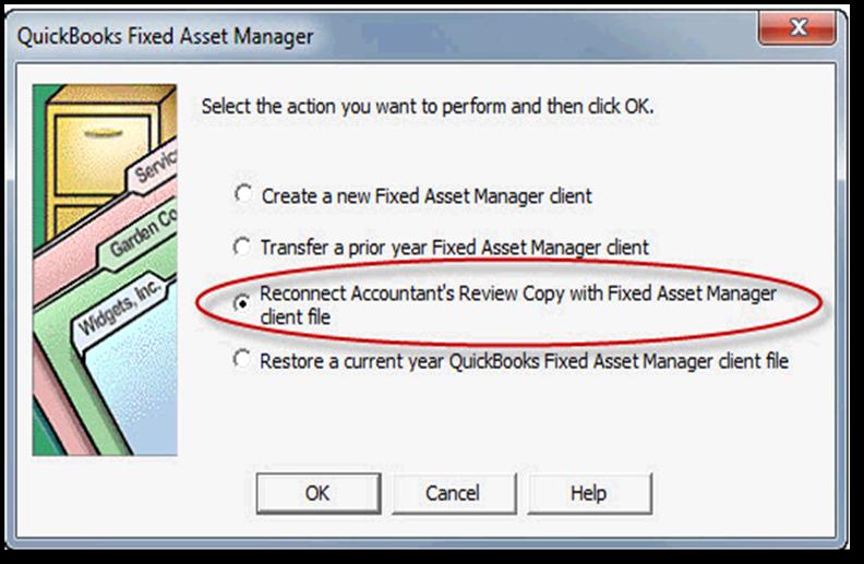 fixed asset in quickbooks